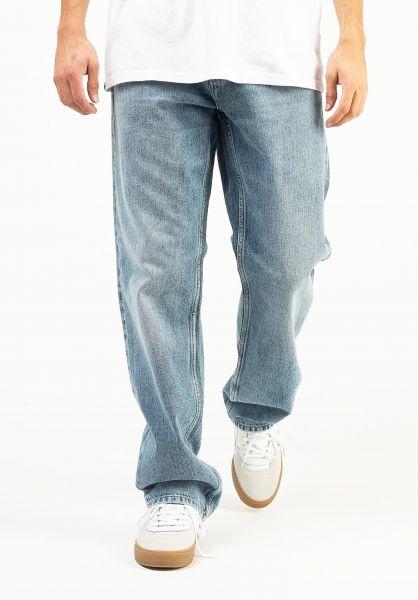 Carhartt WIP Jeans Marlow Pant bluelightusedwash vorderansicht 0227154