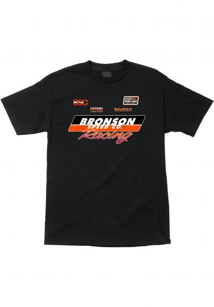 Bronson Speed Co. T-Shirts Race Jersey black vorderansicht 0322154