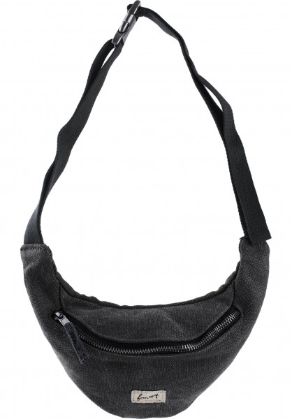 Forvert Hip-Bags Cosmo black Vorderansicht