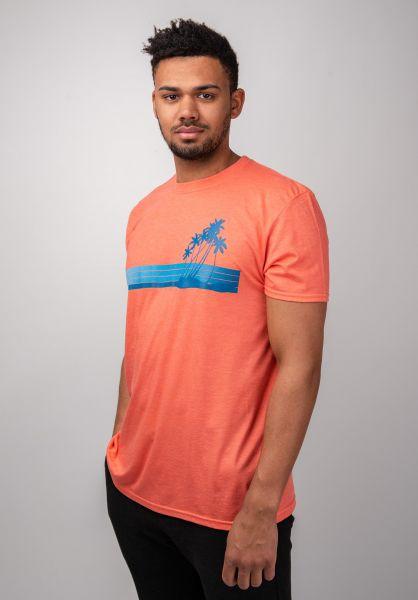 Ezekiel T-Shirts Sunset heatherorange vorderansicht 0399876