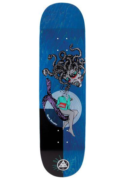 Welcome Skateboard Decks Ryan Townley Gorgon Enenra silver-various stains vorderansicht 0261956