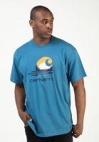 carhartt-wip-t-shirts-lagoon-shore-vorderansicht-0323505