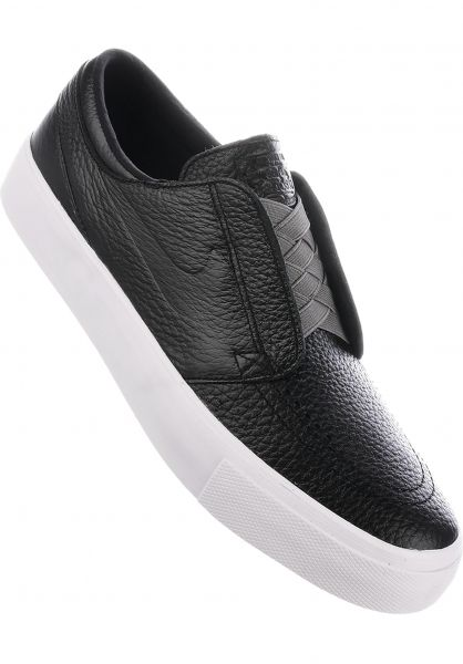 9e48ccb13f7cf0 Nike SB Alle Schuhe Zoom Stefan Janoski HT Slip On black-gunsmoke  Vorderansicht