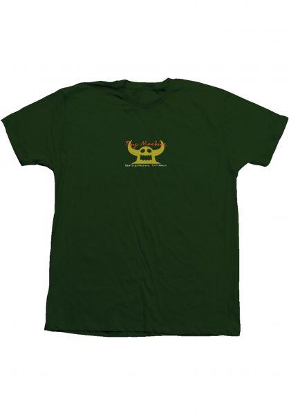 Toy-Machine T-Shirts Toy Co 90´s forest-yellow vorderansicht 0322047