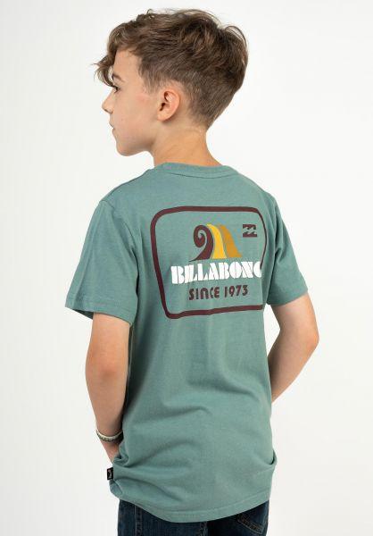 Billabong T-Shirts Walled Boy lightmarine vorderansicht 0324515