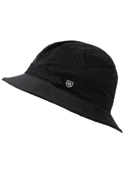 Brixton Hüte B-Shield Bucket black vorderansicht 0580391