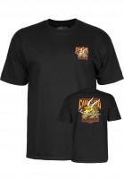 Powell-Peralta-T-Shirts-Caballero-Street-Dragon-black-Vorderansicht