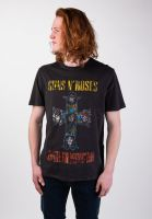 amplified-t-shirts-guns-n-roses-appetite-for-destruction-charcoal-vorderansicht-0320078