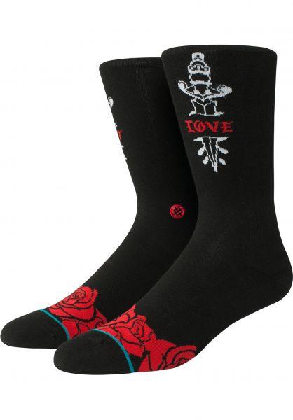 Stance Socken Lost Love black Vorderansicht