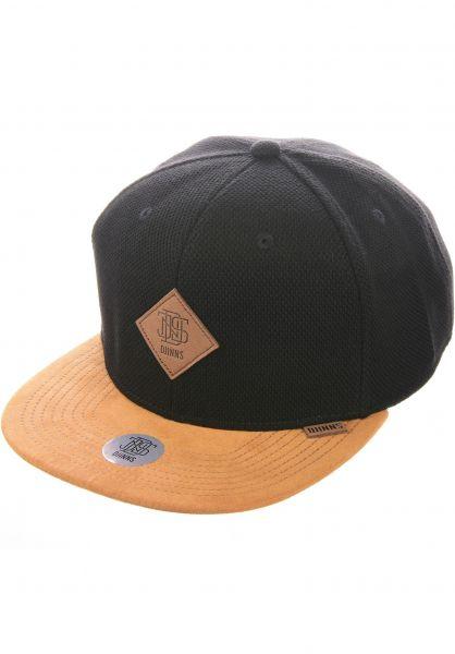 Djinns Caps 6P SB MelangePique black vorderansicht 0567106