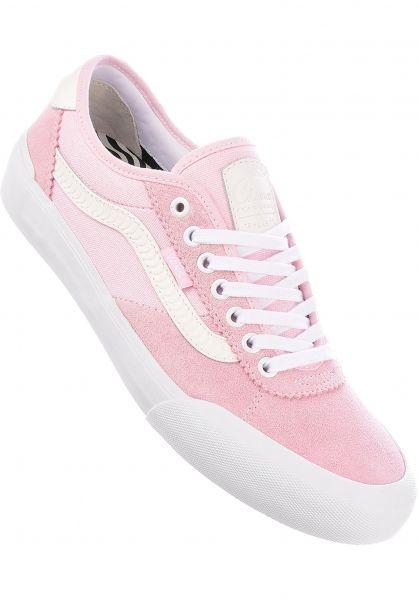 c79973559a2 Vans Alle Schuhe Chima Pro 2 x Spitfire pink Vorderansicht