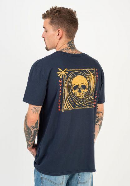 Quiksilver T-Shirts Devils Wink parisiannight vorderansicht 0322435