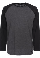 iriedaily Longsleeves Rugged black-anthra Vorderansicht