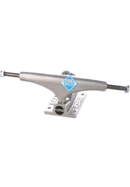 Polster Achsen 5.5 Stage 6 Titan silver vorderansicht 0122575