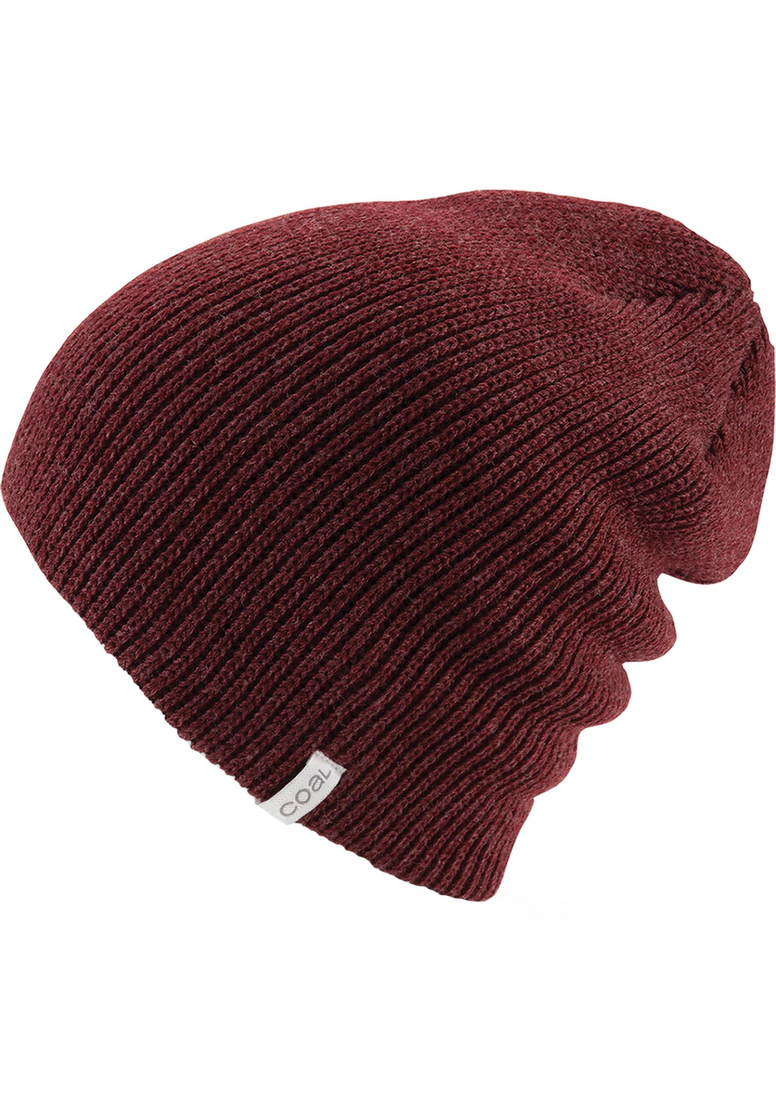 f8f314fe4d8 The Frena coal Beanies in heatherburgundy for Men