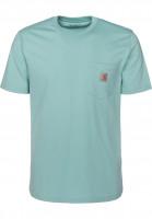 Carhartt WIP T-Shirts Pocket rio Vorderansicht