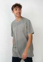 mazine-t-shirts-corris-striped-greymelange-vorderansicht-0322282