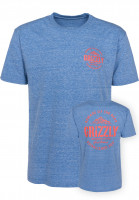 Grizzly T-Shirts All Terrain royalblue-triblend Vorderansicht