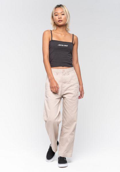 Santa-Cruz Tops Strip Vest blackwash vorderansicht 0352516