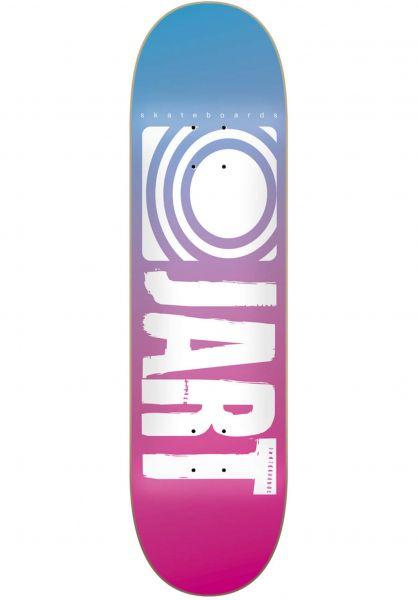JART Skateboard Decks Classic II lightblue-pink vorderansicht 0265332