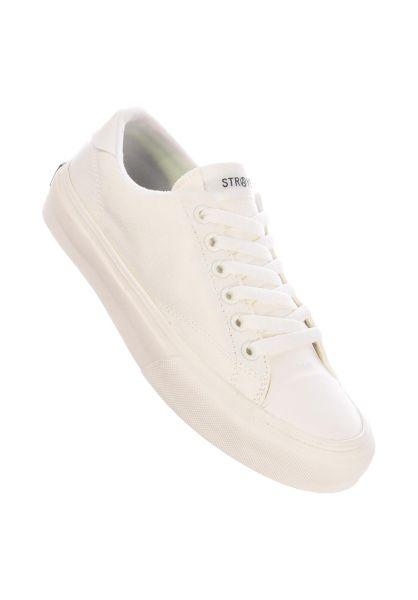 Straye Alle Schuhe Stanley cream/gum canvas vorderansicht 0612536
