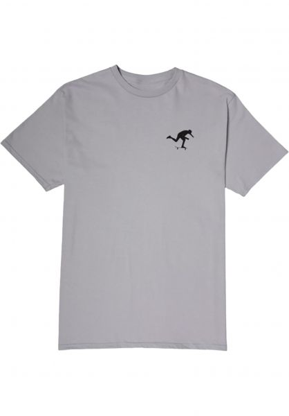 Foundation T-Shirts Push silver vorderansicht 0321657