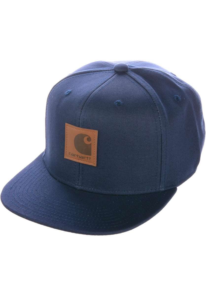 Logo Carhartt WIP Caps in blue for Men  af976c9737c