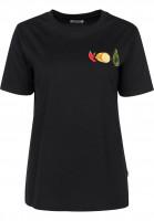 Cleptomanicx T-Shirts Guacamole black Vorderansicht