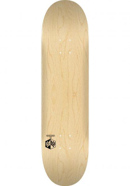 Mini-Logo Skateboard Decks Chevron Detonator 15 Maple natural vorderansicht 0265263