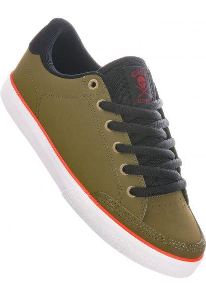 C1RCA Alle Schuhe Lopez 50 Pro militaryolive-black-white vorderansicht 0604657