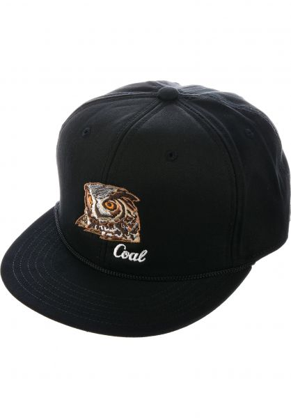 coal Caps The Wilderness black Vorderansicht