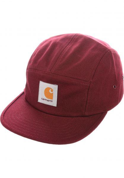 Carhartt WIP Caps Backley Cap bordeaux vorderansicht 0563648