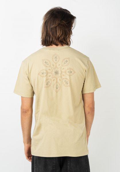 Rhythm T-Shirts Echo dust vorderansicht 0322038
