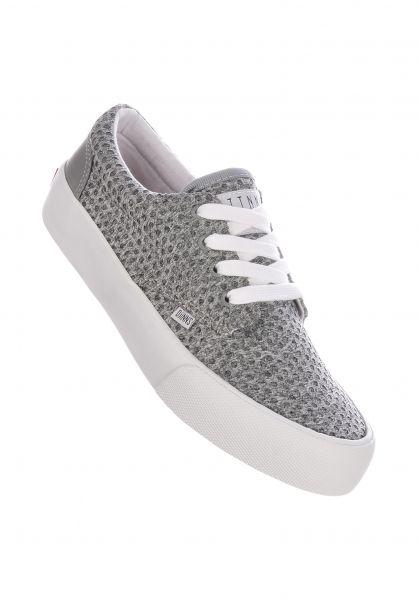 Djinns Alle Schuhe Nice Jersey Dots grey vorderansicht 0612521
