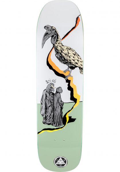 Welcome Skateboard Decks Ryan Lay Inferno on Stonecipher white sage vorderansicht 0117765