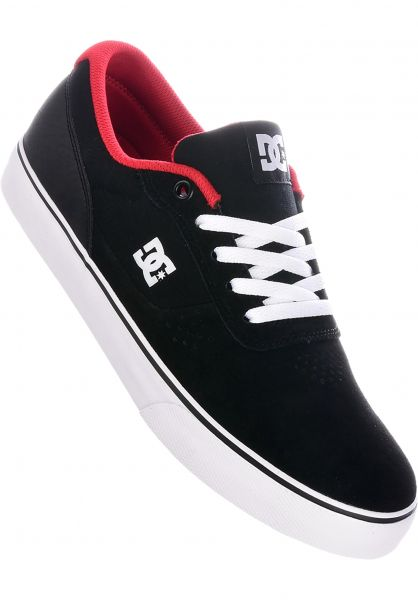 DC Shoes Alle Schuhe Switch S black-athleticred vorderansicht 0604029