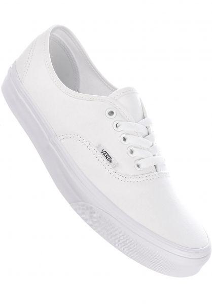 Vans Alle Schuhe Authentic truewhite vorderansicht 0601785