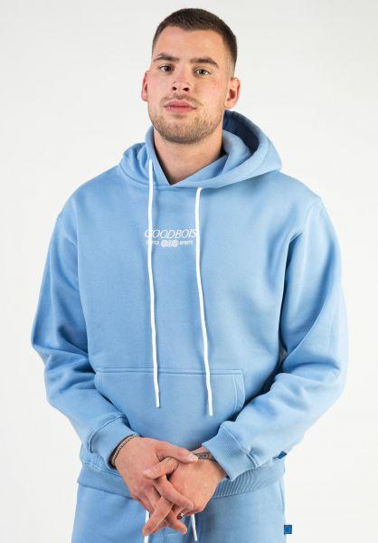 Goodbois Hoodies Trademark iceblue vorderansicht 0446233