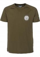 Reell-T-Shirts-Universe-Pocket-olive-Vorderansicht
