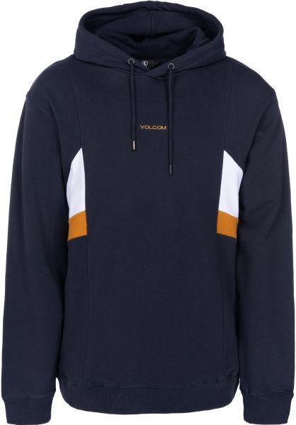 Volcom Hoodies Wailes Pullover navy vorderansicht 0445264