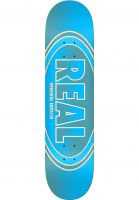 Real Skateboard Decks Crossfade Renewal blue Vorderansicht