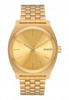 Nixon-Uhren-The-Time-Teller-allgold-gold-Vorderansicht