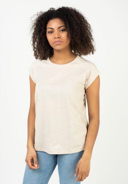 TITUS T-Shirts Essential Raglan Tee Girls crememottled vorderansicht 0399219