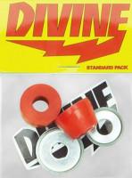 Divine-Lenkgummis-90A-red-Carver-no-color-Vorderansicht