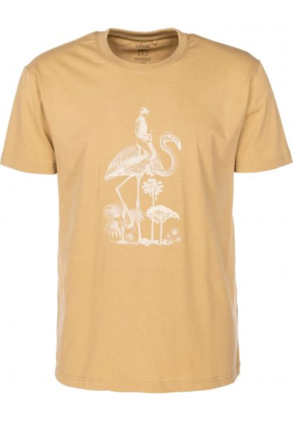 Mahagony T-Shirts Flamingo yellow vorderansicht 0399465