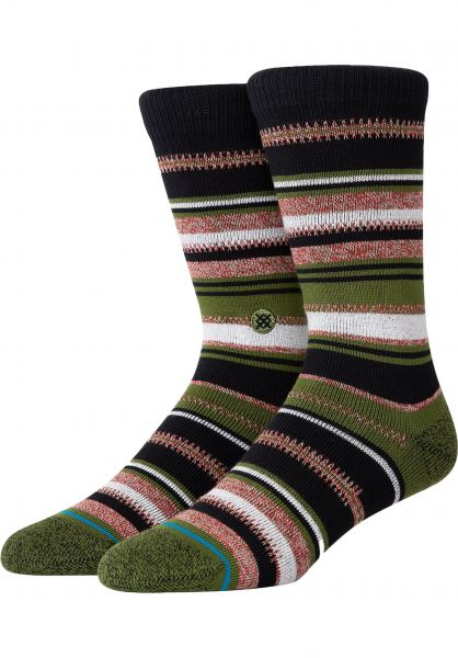Stance Socken Ernesto olive vorderansicht 0632010