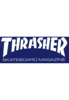 Thrasher-Verschiedenes-Skate-Mag-Super-Sticker-blue-Vorderansicht
