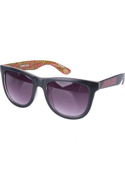 Santa-Cruz Sonnenbrillen Multi Classic Dot black Vorderansicht