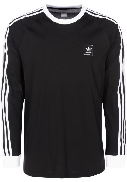adidas-skateboarding Longsleeves Cali black-white closeup2 0383144
