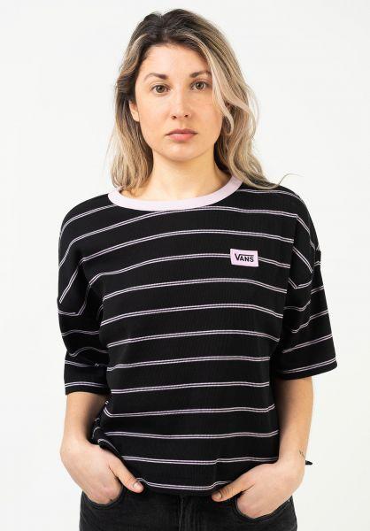 Vans T-Shirts Razz Boxy black vorderansicht 0322943
